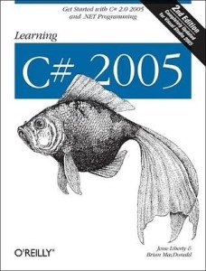 Capa do livro Learning C# 2005