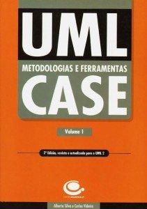 Capa do livro UML - Metodologias e Ferramentas CASE -  2ª  Edição - Volume 1