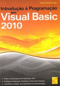 Capa do livro Introdução à Programação em Visual Basic 2010