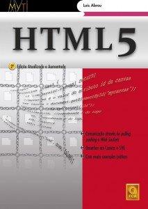 Capa do livro HTML5 - 2ª Edição Atualizada e Aumentada