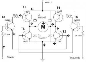 Arduino/servos: esquema eléctrico
