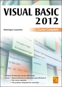Capa do livro Visual Basic 2012 - Curso Completo