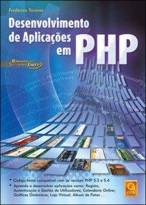 Capa do livro Desenvolvimento de Aplicações em PHP