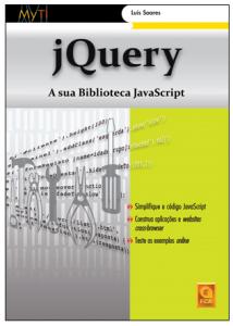 Capa do livro jQuery: A sua Biblioteca JavaScript
