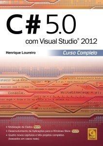 Capa do livro C# 5.0 com Visual Studio 2012 - Curso Completo