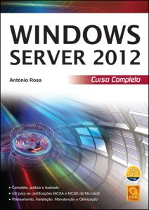 Capa do livro Windows Server 2012 - Curso Completo
