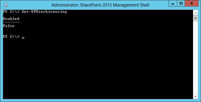 SharePoint: Utilização do cmdlet Get-SPUserLicensing