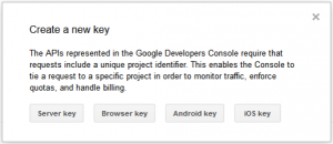 Android: Criar Key
