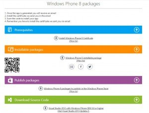 App Studio: Gerar para Windows Phone 8.1