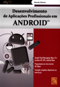Capa do livro Desenvolvimento de Aplicações Profissionais em Android
