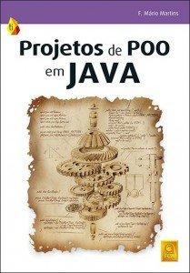 Capa do livro Projetos de POO em Java