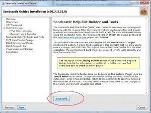 SandCastle: instalar