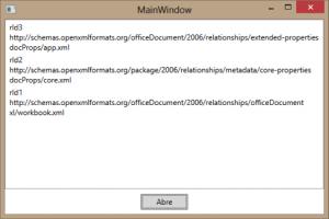 OpenXML: execução
