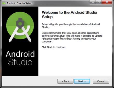 Instalação do Android Studio