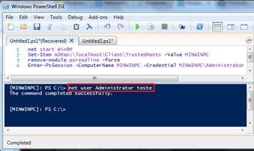 Windows 10 IoT: alteração da palavra-passe