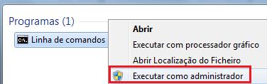 Executar aplicação como administrador