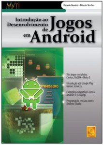 Capa do livro Introdução ao Desenvolvimento de Jogos em Android