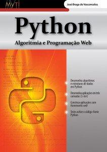 Capa do livro Python – Algoritmia e Programação Web