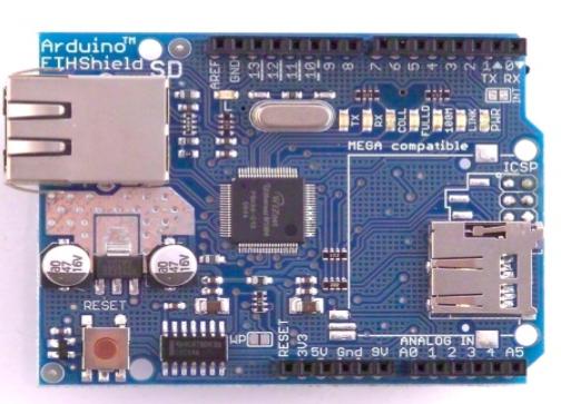 Arduino: ethernet shield