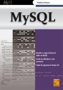 Capa do livro MySQL