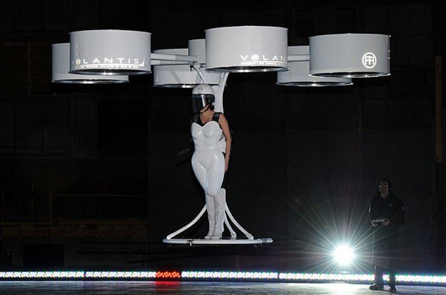 Volantis Flying Dress