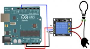 Arduino: esquema com relé