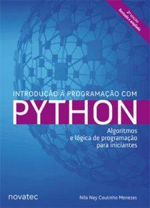 Capa do livro Introdução à Programação com Python: Algoritmos e lógica de programação para iniciantes