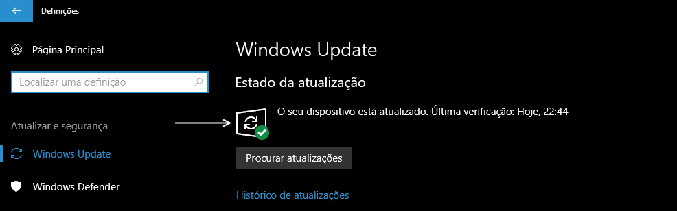 Windows Update Status