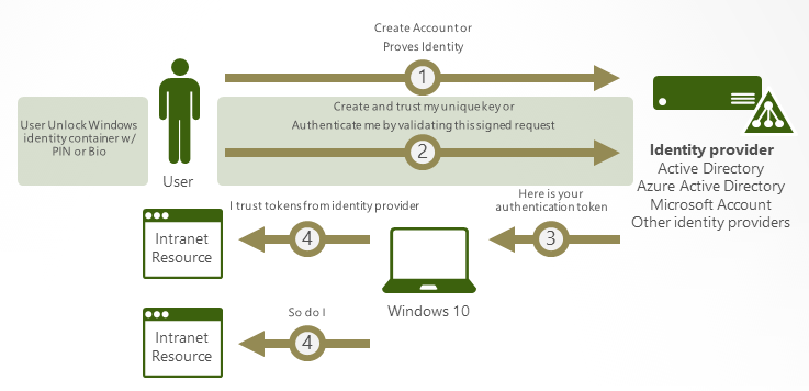 Windows Hello Authentication