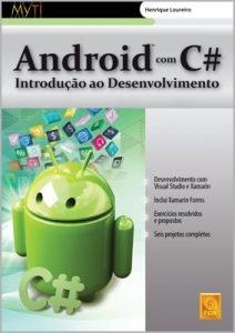 Capa do livro Android com C# – Introdução ao Desenvolvimento