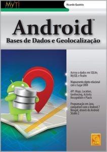 Capa do livro Android: Bases de Dados e Geolocalização