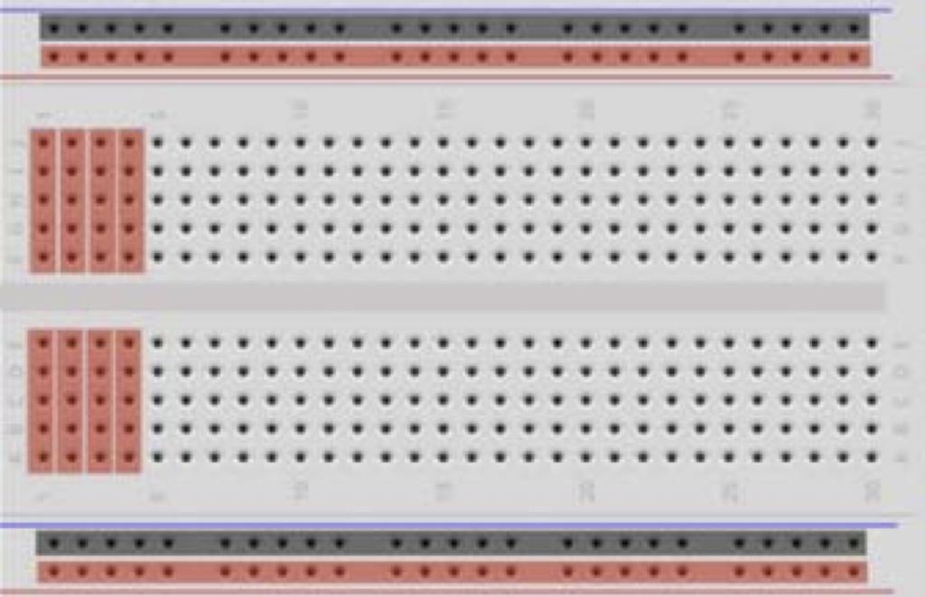 Arduino: exemplo de breadborad