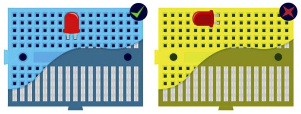 Arduino: exemplo de breadborads