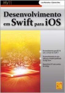 Capa do livro Desenvolvimento em Swift para iOS