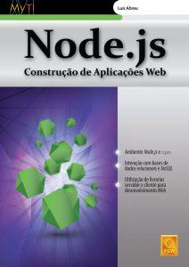 Capa do livro Node.js: Construção de Aplicações Web