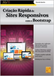 Capa do livro Criação Rápida de Sites Responsivos com Bootstrap
